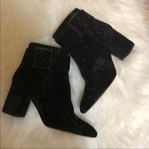 New Louise et cie Black ankle boots size 8